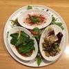 本日のイサーン料理 3種
