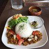 acoustic book cafebar by - 料理写真:カルフォルニアキーマカレー  1100円