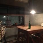 43981402 - 2015/10/23 奥のテーブル席
