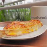 breadworks - 料理写真:クロックムッシュ+コーヒー