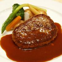 1日10食限定≪国産牛100%ハンバーグステーキ≫