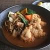 lavi lavi - 料理写真:とり天きのこto野菜カレー