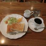 ザルツバーデン - 料理写真:モーニングセット、500円(税込み)