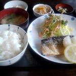 めん福 - 日替定食(鯖の唐揚げ)
