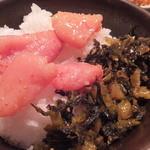 やまや - 明太子と高菜(2015年11月)