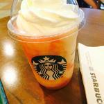 スターバックスコーヒー - 桃のフラペチーノ