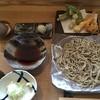 おそば だいだい - 料理写真:ざるそばと天ぷら野菜三種