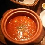 44017607 - 大豆とベーコンの完熟トマトズッペ