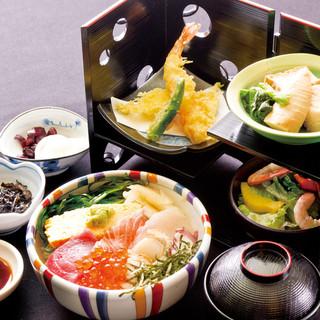 【ランチ】鮮魚を使ったランチメニュー980円~ご用意!
