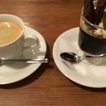 カフェフロッグ - デザートはコーヒーゼリー