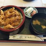 鳥亀食堂 - 151103 たつた丼