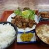 つつみ食堂 - 料理写真:焼肉定食小 550円