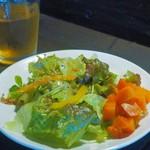 生姜料理 しょうが - お代わりできるサラダ