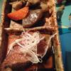 喜良喰 - 料理写真:お通しは、筑前煮とカレイの煮付け