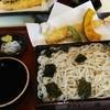 加賀屋 - 料理写真:天ざるそば。1470円。