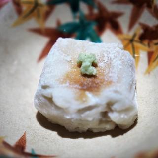 うち山 - 料理写真:焼き胡麻豆腐