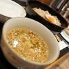 どさん粉 麺や 凡 - 料理写真:カレーつけ麺セット(餃子とコメシ