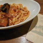 ピソラ - 茄子とモッツァレラのミートソース¥990