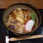 和食 うどんや - 季節限定舞茸天ぷらうどん