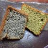 和しふぉん しゅんらん - 料理写真:黒ゴマ、黒蜜と抹茶のきなこシフォン♪