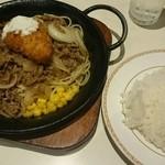 キッチンカロリー - 手作りカニクリームコロッケ鉄板焼    ¥800