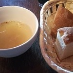 44082579 - スープとパン