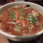 カラシビつけ麺 鬼金棒 - つけ麺のつけ汁