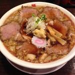 六代目けいすけ - 背脂肉そば(830円)