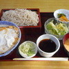 かつのや大師 - 料理写真:カツ丼セット