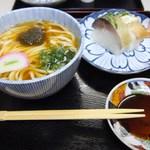 44137101 - 上鯖寿司うどんセット