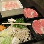 和食さと - 料理写真:しゃぶしゃぶ