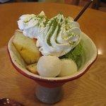 まちのちいさなパフェ屋さん - 抹茶パフェ(スモール)¥430