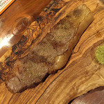 NATIVE DELI - 石垣和牛のサーロイン(これで十分美味)