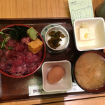 玉乃光酒蔵 - まぐろ丼と小豚汁の空中写真