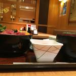 玉乃光酒蔵 - まぐろ丼と小豚汁