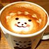 シーズカフェ - ドリンク写真:可愛いラテアート