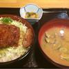 めしや - 料理写真:四元豚ソースかつ丼 1026円