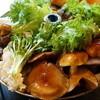 仙人小屋 - 料理写真:天然茸の鍋定食(3000円)