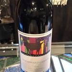 44173137 - ウッドワード・キャニオン良いワイン開けてもらいました。
