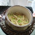 赤坂菊乃井 - 御飯 松茸御飯