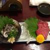 はまにく - 料理写真:牛刺しとセンマイ