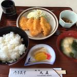 丸直 - 料理写真:151107 チキンカツ定食