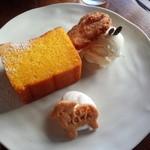 44190450 - かぼちゃのケーキ 600円税込