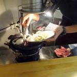 まーさん - Aセットの焼き野菜投入