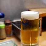 元祖串かつ だるま - ビールと一緒に♪