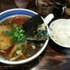 とうかんや - 料理写真:醤油ラーメン 700円  小ライス100円