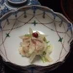 山ばな平八茶屋 - 蟹の白酢和え