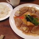 洋食 ふじい - ヤマトポークのロースト りんご風味