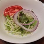 洋食 ふじい - セットのサラダ