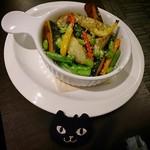 エール ビアアンドピッツァ - 季節の野菜のオーブン焼き